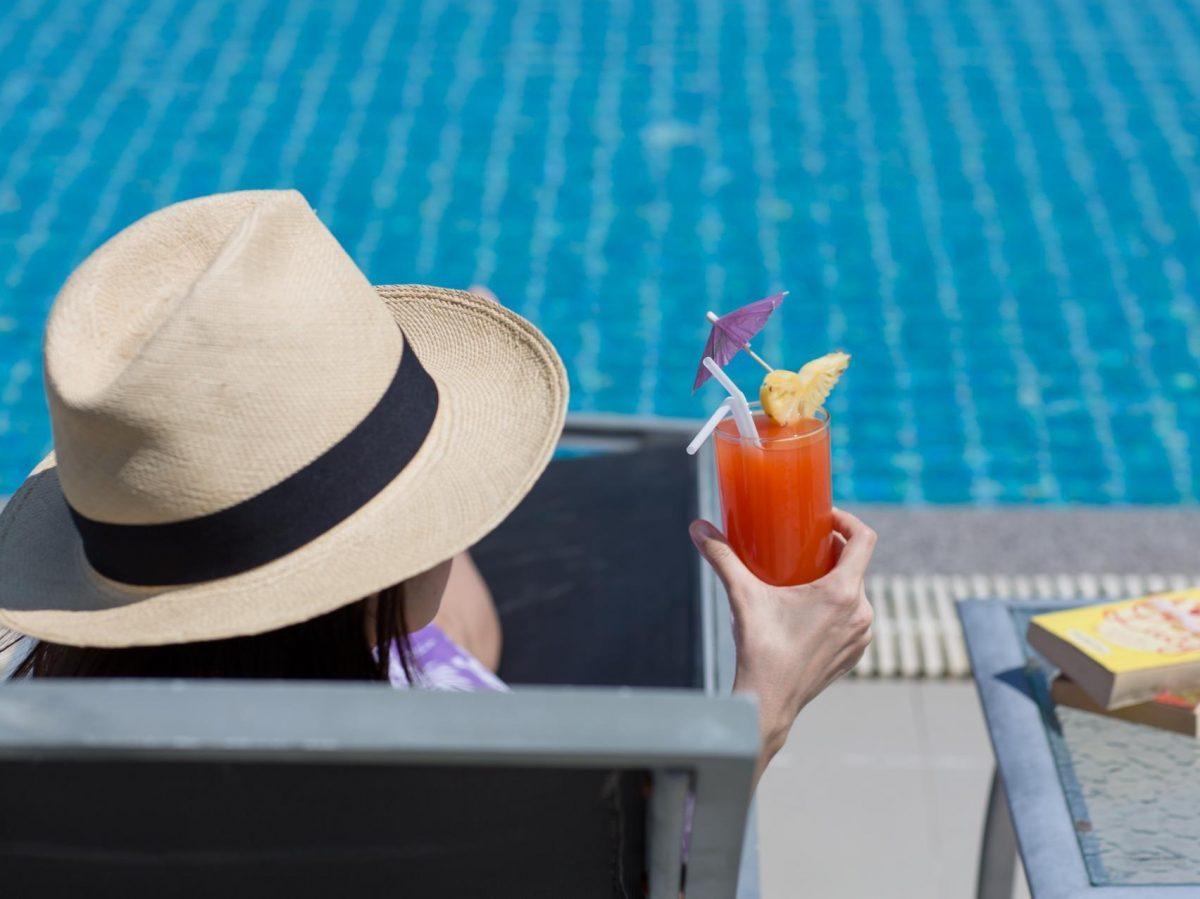 swimmingpool of the Citrus Parc Pattaya hotel