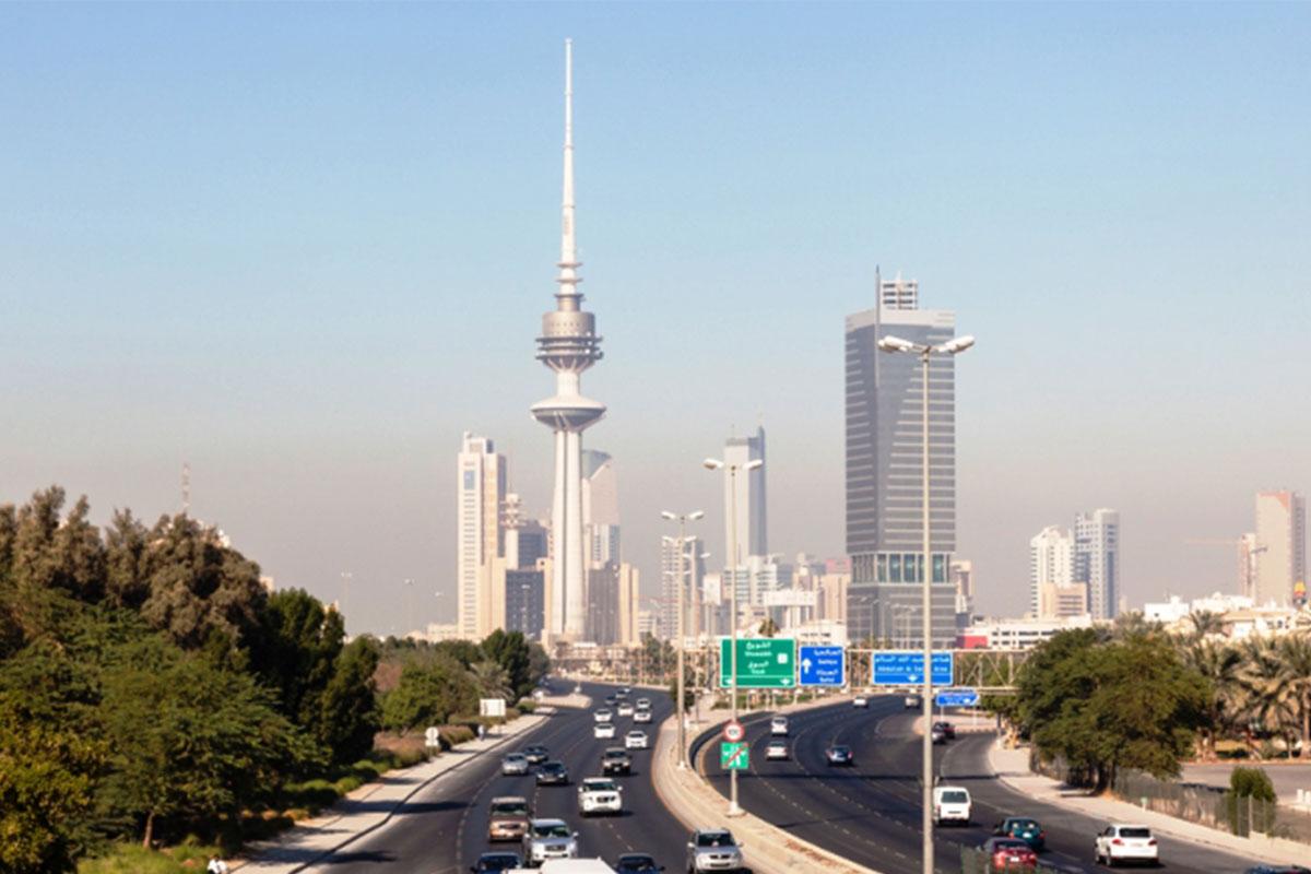 Kuwait city skyscraper