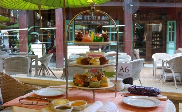 afternoon tea-place