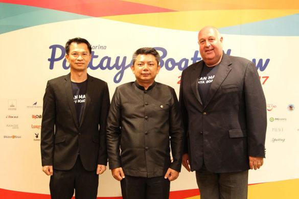 Pattaya to become marine leisure hub of Asia-three men