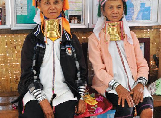myanmar-tradition in women