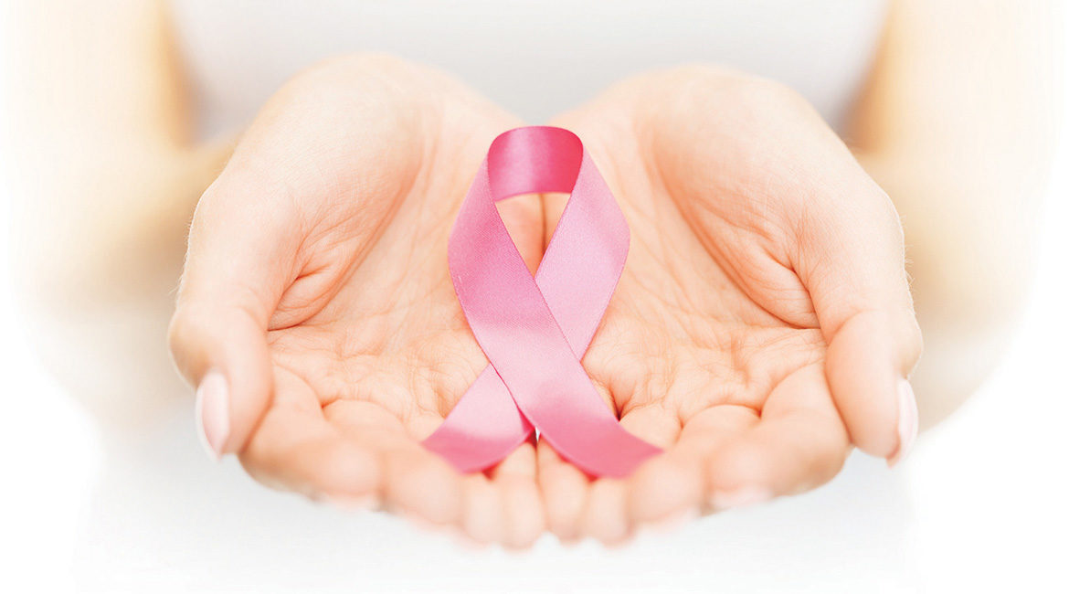 breast cancer-hand