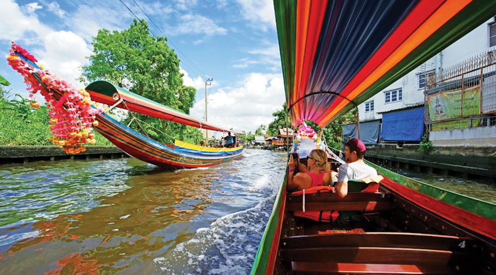 khlong side-bangkok