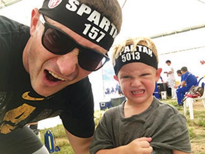 spartan father and son