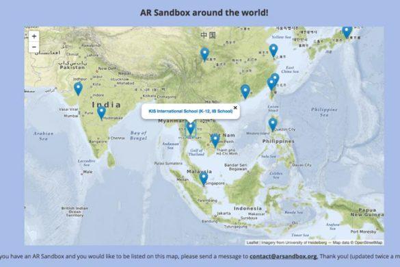 Ar sandbox around the world