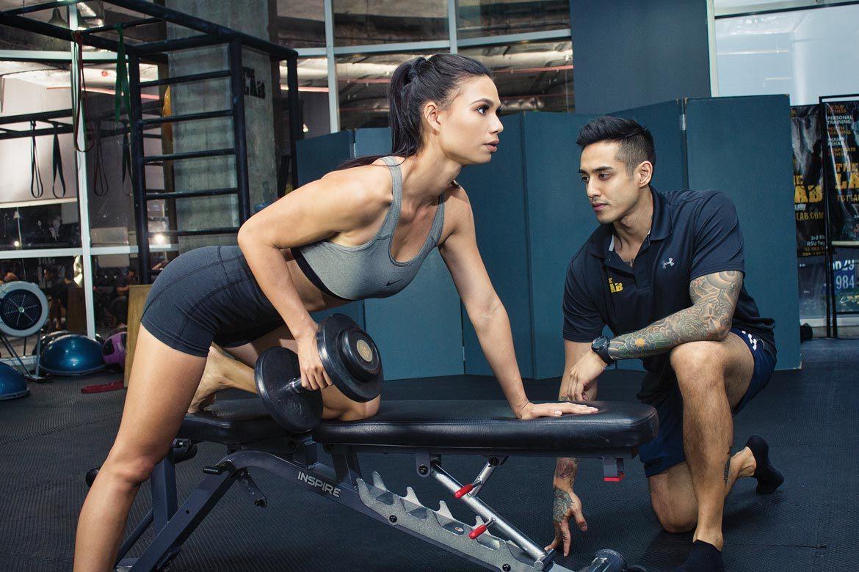 Women Train Hard With Rishi