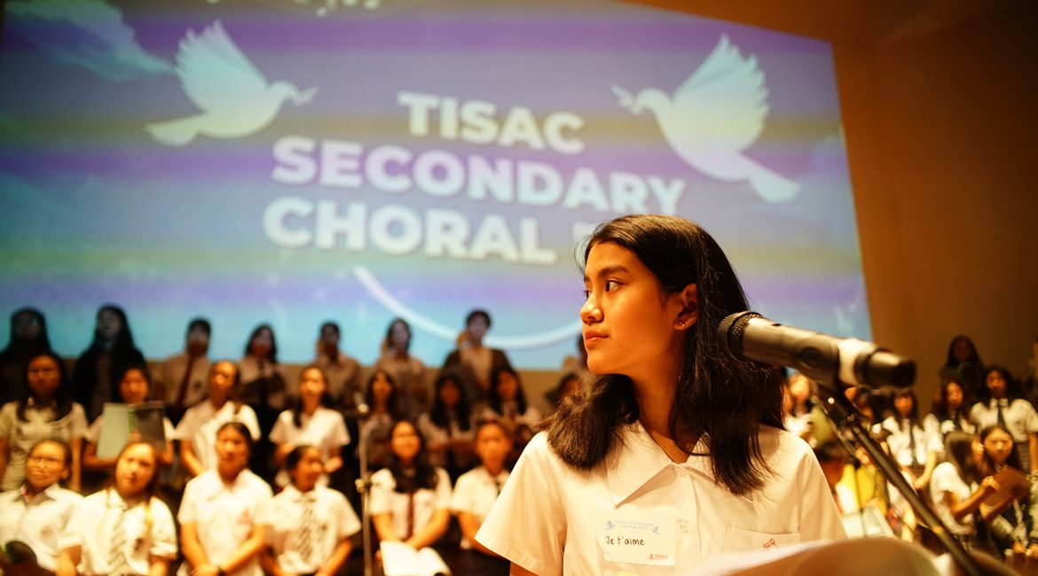 Broomsgrove International School Hosted Tisac Secondary Choral Day