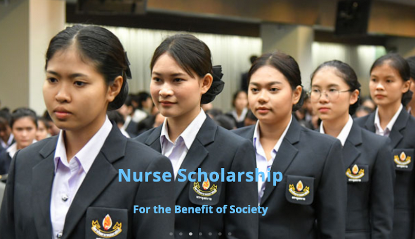 Nurse Scholarship Thailand