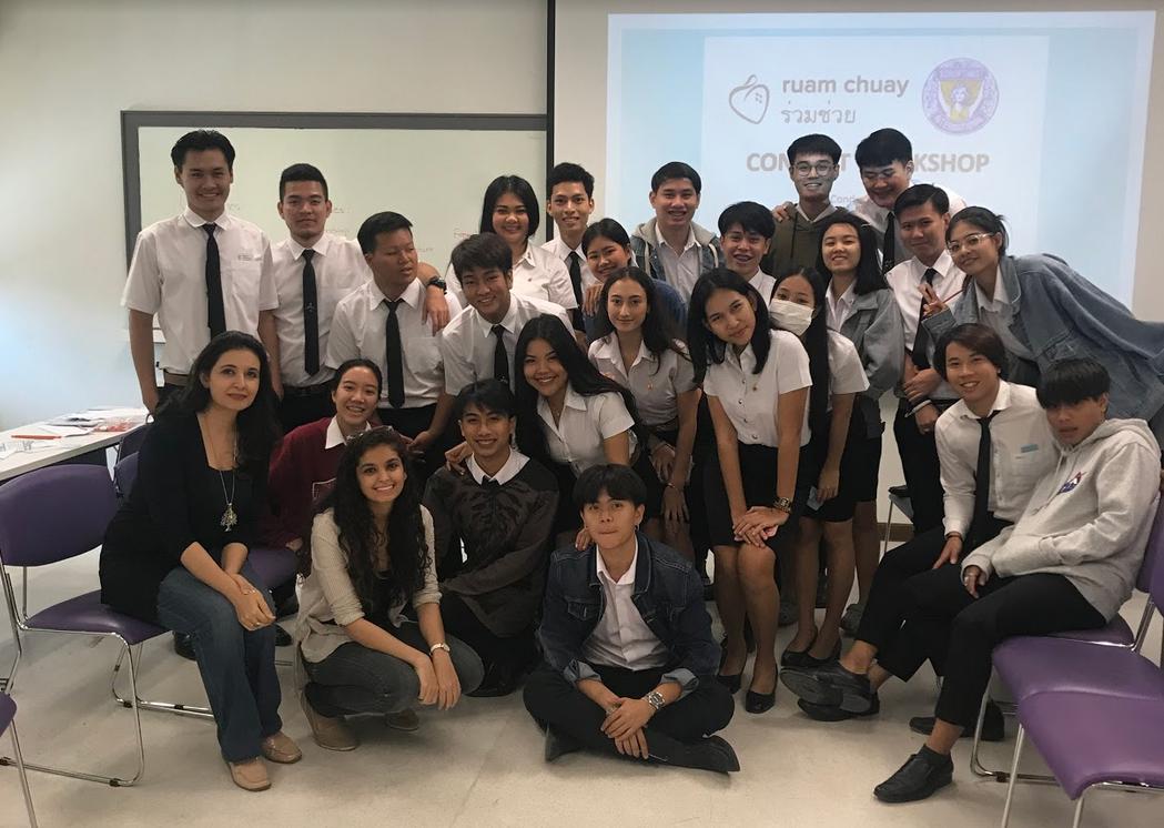 Ruam Chuay workshop at Bangkok schools