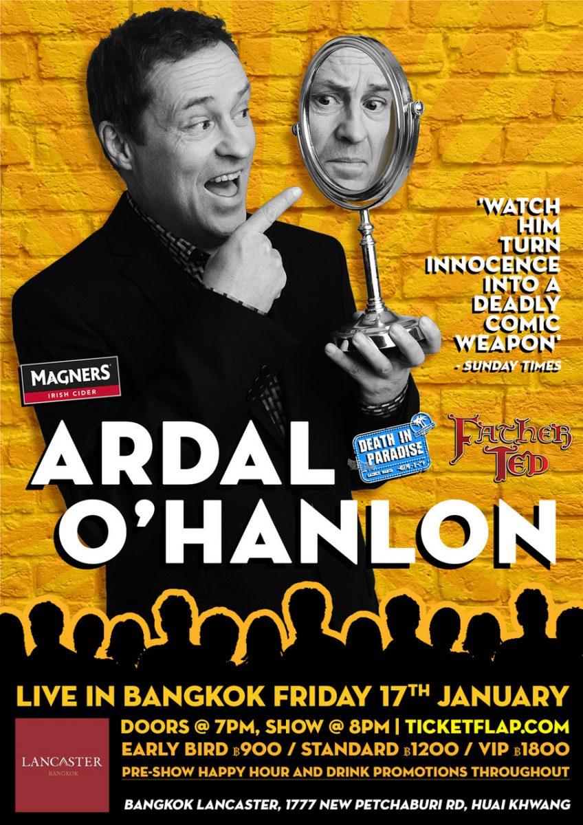 ARDAL O'HANLON LIVE IN BANGKOK!