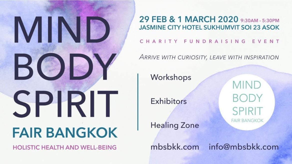 Mind, Body, Spirit fair Bangkok