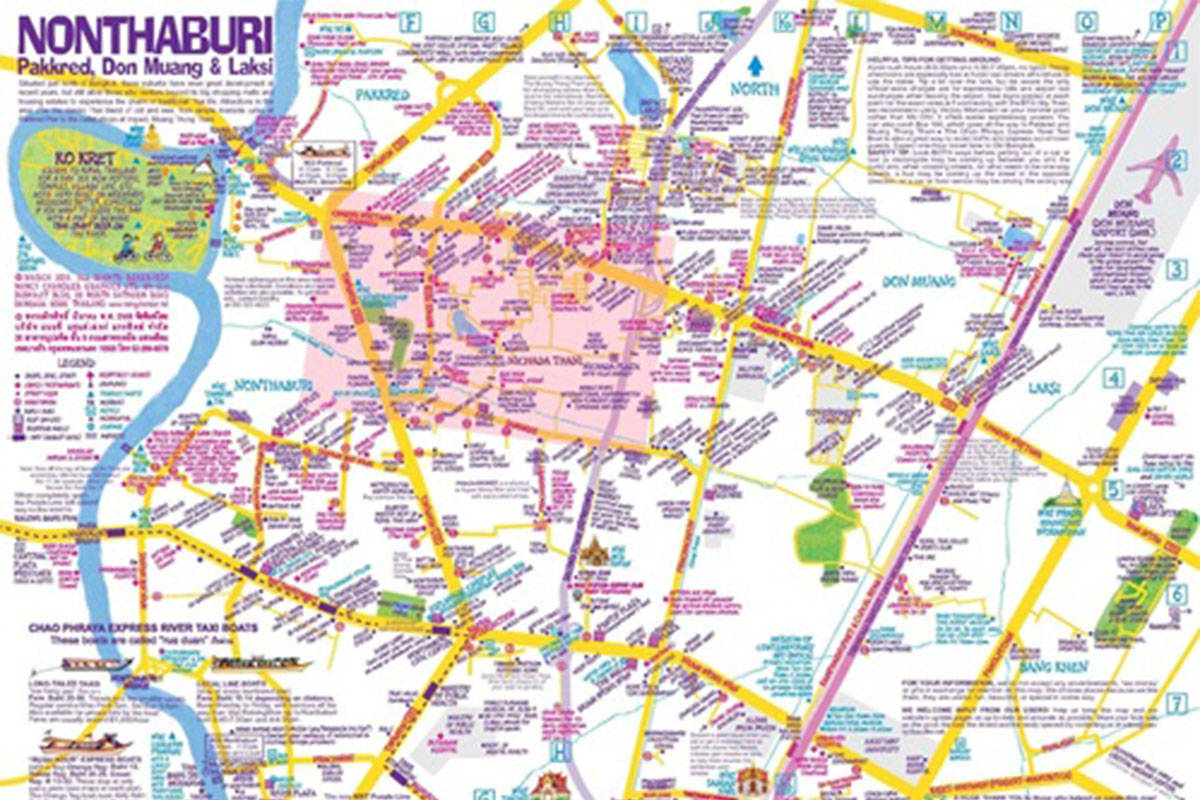 Nancy Chandler does it again Mapping Nonthaburi Expat Life in