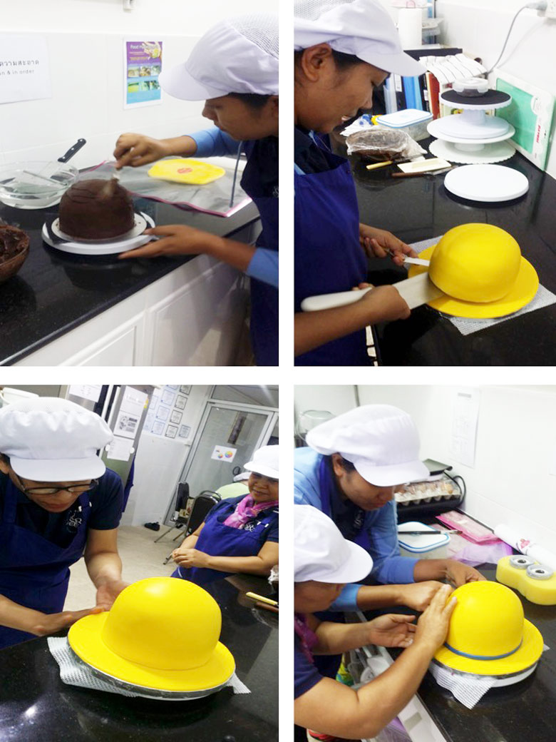 minion-cake-making