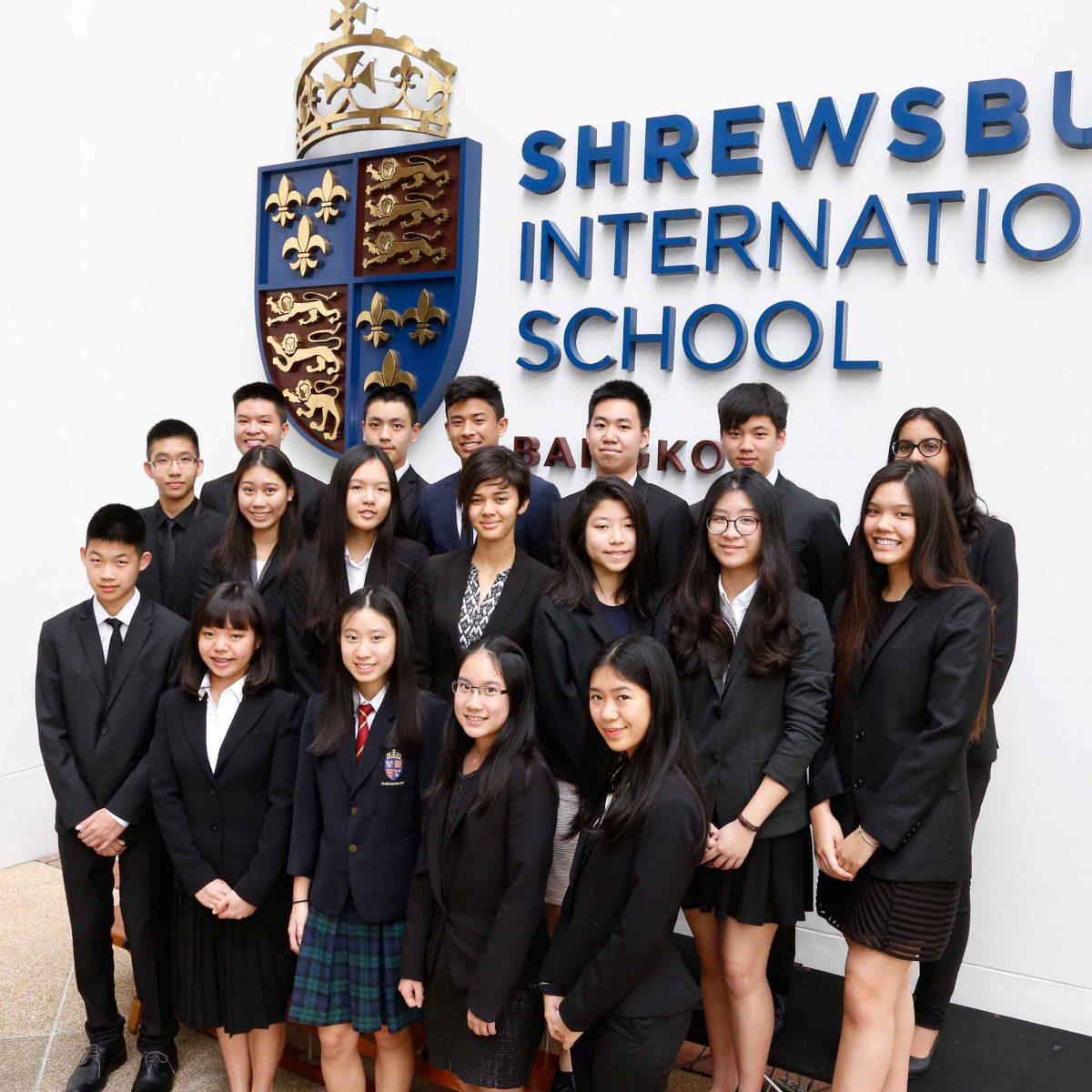 student of Shrewsbury International School
