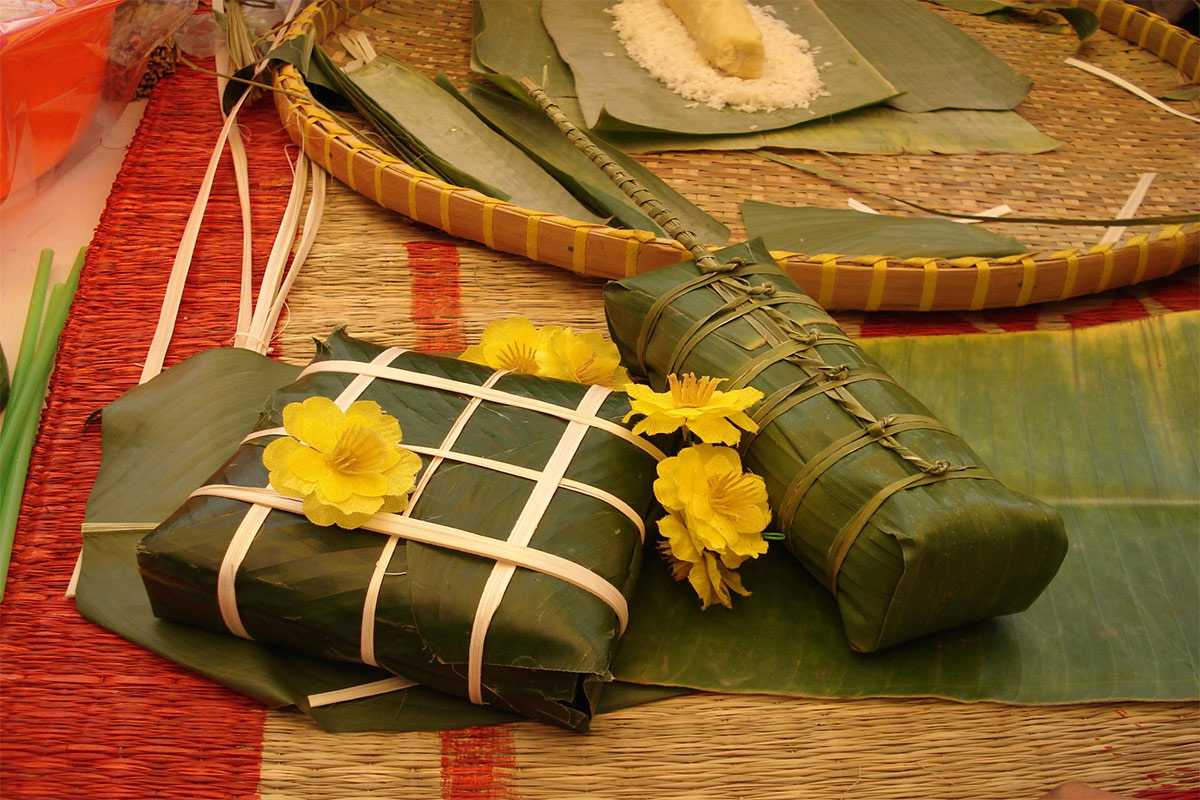 Vietnamese festive foods