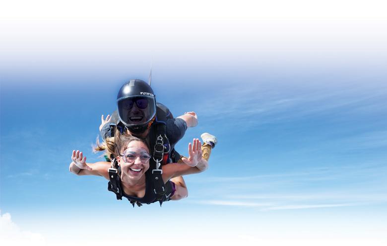 Empowering Women - Sky Diving