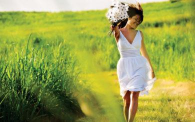 Empowering Women - Woman in White Dress