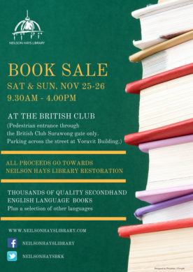 Neilson Hays Library Book Sale
