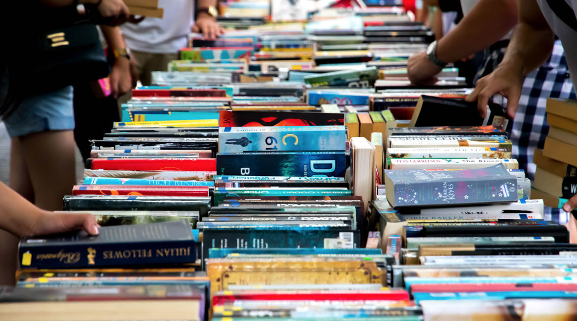Neilson Hays Library Book Sale ft