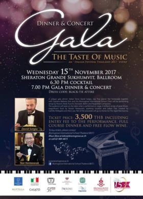 gala dinner -poster