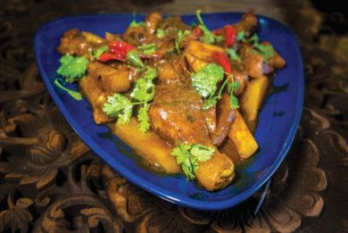 gourmet-chicken korma