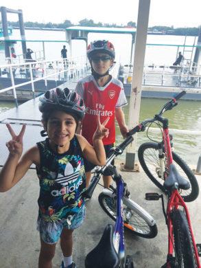 green lung-bikers kids