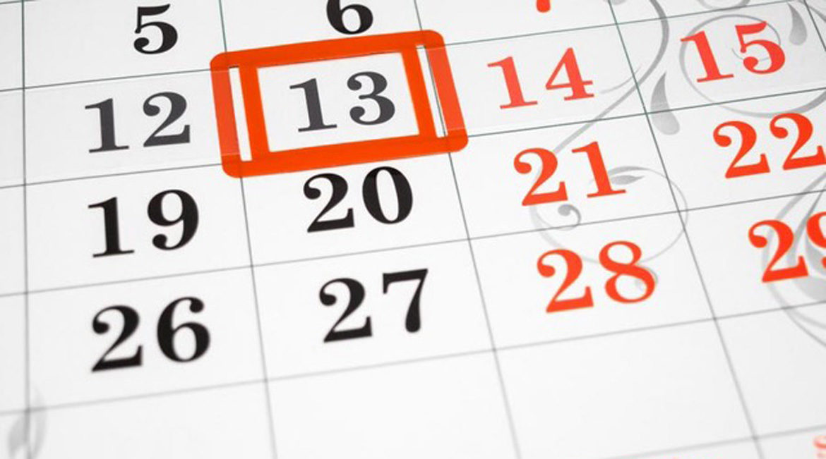 Why is Friday the 13th-calendar ft