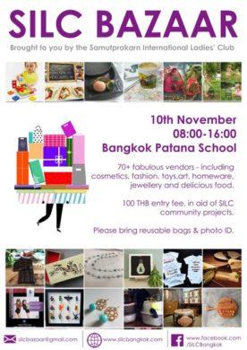 silc bazaar-poster