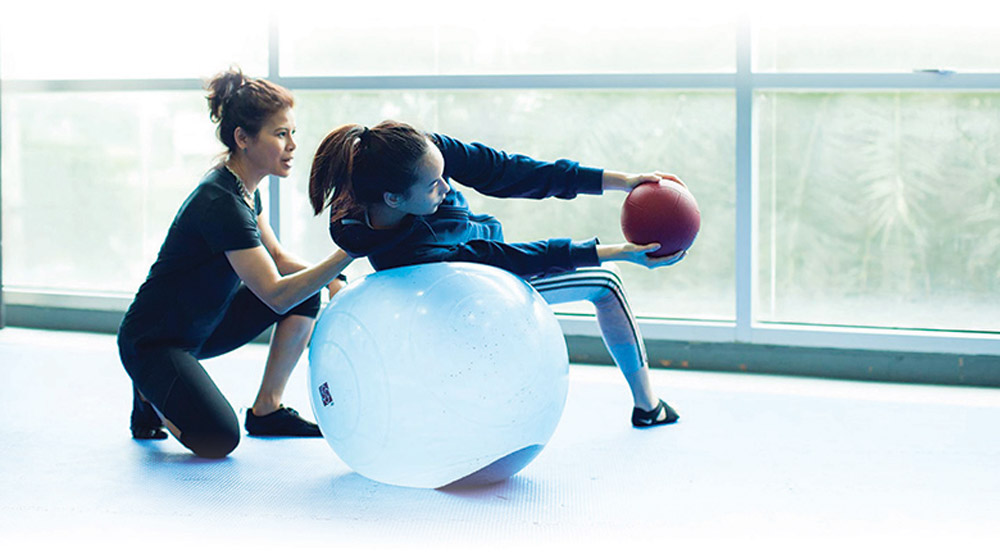 science behind fat exercise using a ball ft