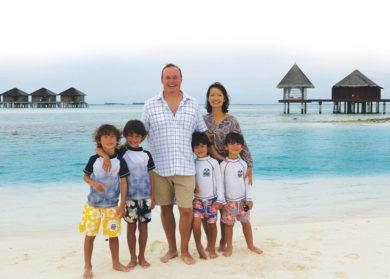Maldives vacation Brixon Family