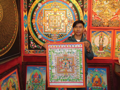 Nepal paintings and culture