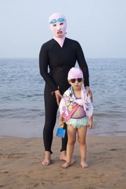 Swimsuit Women and Daughter