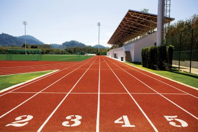 Running Track and Rugby