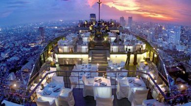 Restaurant on top