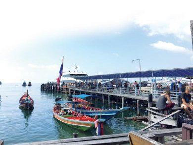 Koh Tao Arriving