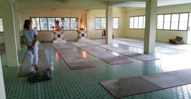 Meditation Center room