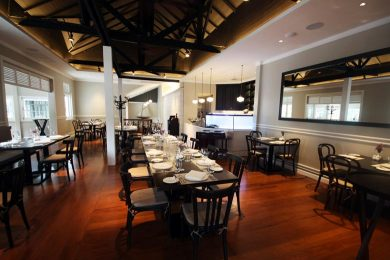 Bresserie 9 kitchen