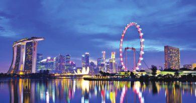 Singapore happy place