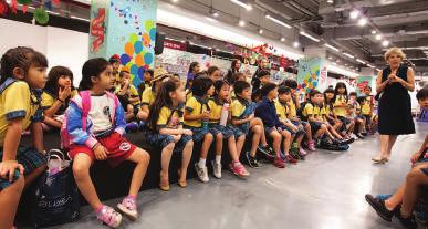 Children participate