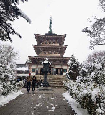 Big Temple in Japan