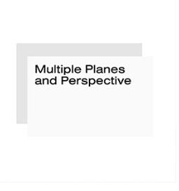 Multiple planes