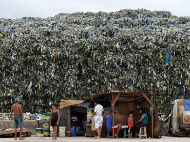 rubbish mountain