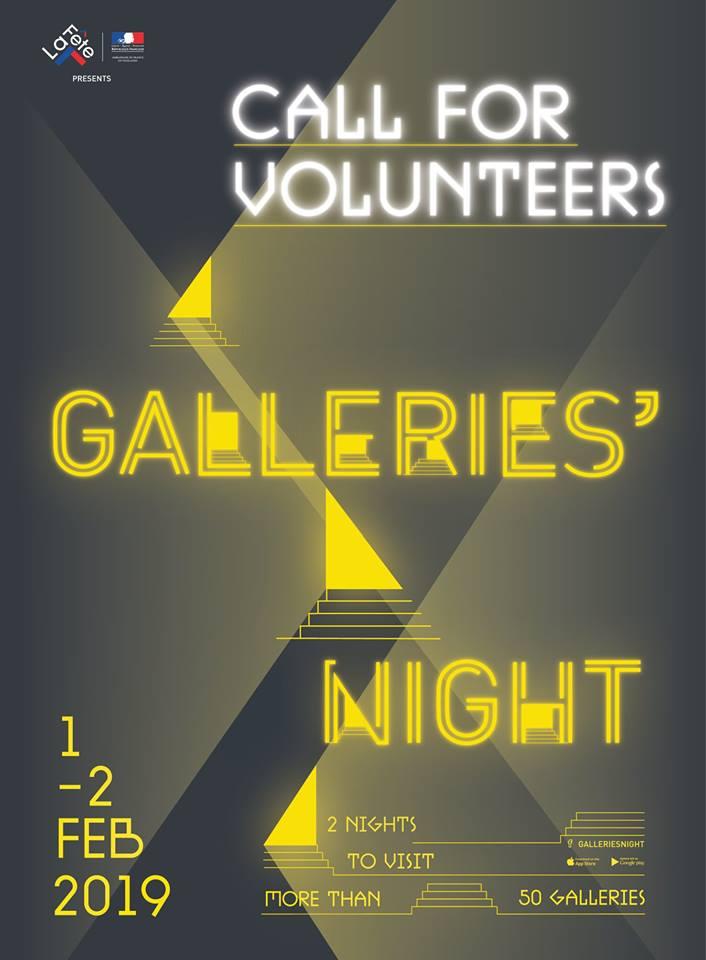 Galleries' Night Poster