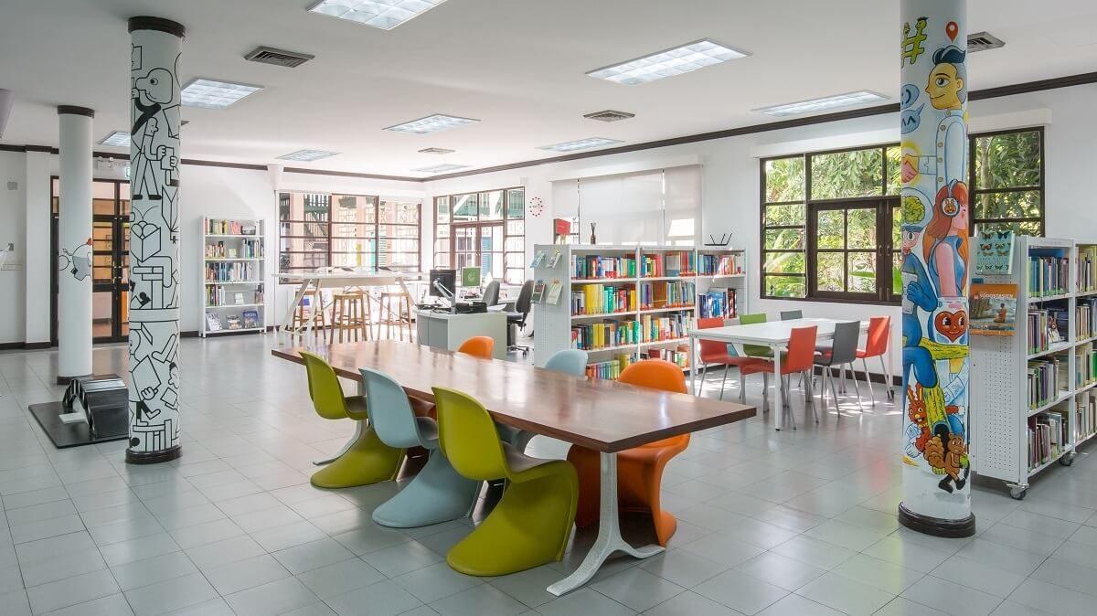 Goethe Bangkok-library
