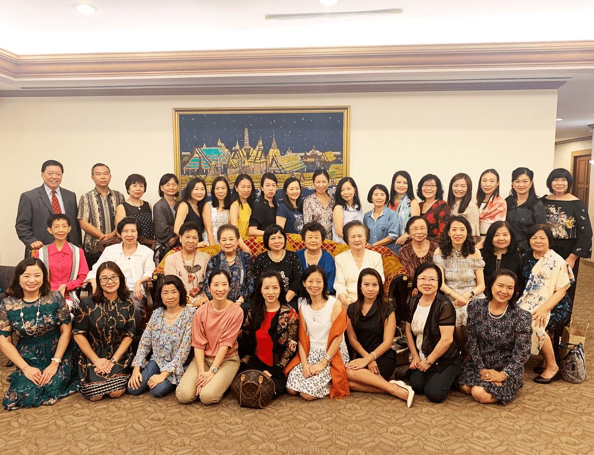 Members of the Hong Kong Ladies's Group