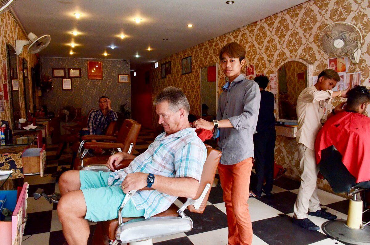 Phnom Penh-barbers