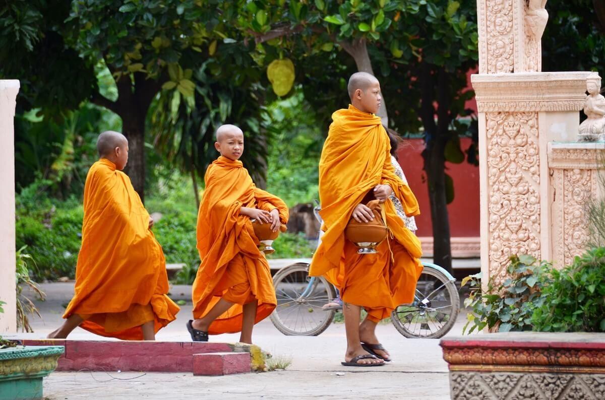 Phnom Penh-monk