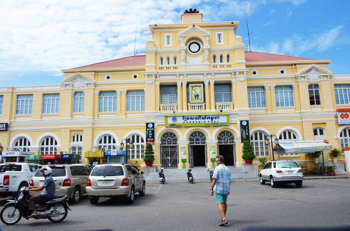 Phnom Penh-post office