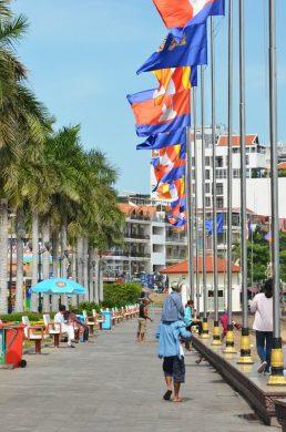Phnom Penh-walkway