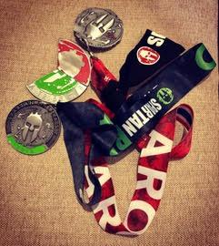 Spartan Hua HIn-medal